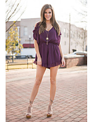 Grande mancha 2016 aliexpress calle casual niña salvaje strapless jumpsuit