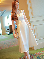 2017 spring and summer cross strap dress real shot