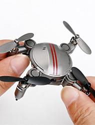 Drone RC 4 Canaux 6 Axes 2.4G Avec Caméra HD Quadri rotor RCFPV Eclairage LED Retour Automatique Auto-Décollage Sécurité Intégrée Mode