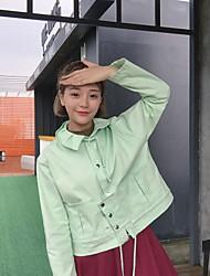 Знак колледжа ветер корейский версия лотоса лист воротник сюртук женский