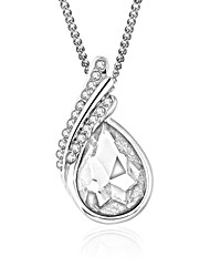 Women's Pendant Necklaces Jewelry Jewelry Crystal Rhinestone Alloy Euramerican Fashion Jewelry For Party Special Occasion Anniversary Gift