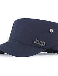 Women Men Casual Couple Solid Color Letter Icon Accessories Cotton Flat Navy Baseball Cap