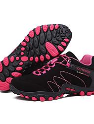 LEIBINDI Sneakers Hiking Shoes Running Shoes Women's Anti-Slip Anti-Shake/Damping Wearproof Outdoor Low-Top Nubuck leather Perforated EVA