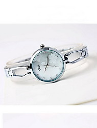 Women's Fashion Watch Water Resistant / Water Proof Japanese Quartz Alloy Band Flower Cool Casual Silver