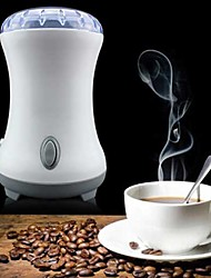 220V Electric Coffee Grinder Maker Beans Herbs Spice Nuts Mill with Stainless Steel Blades