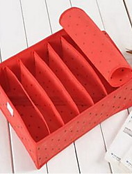 Storage Boxes Storage Units Non-woven withFeature is Lidded  For Underwear Random Color