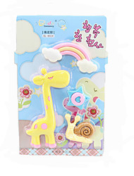 Correction Supplies Three-dimensional DIY Giraffe Technology Easers For School Supplies Office Supplies Gift
