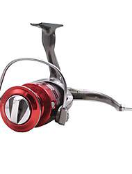 Molinetes de Pesca Molinetes Rotativos 5.2:1 10 Rolamentos Destro Pesca Geral-FC3000