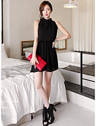 vestido sin mangas dulce