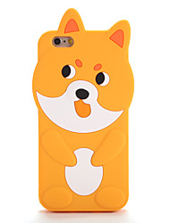 For Apple iPhone 7 7Plus Pattern Case Back Cover Case 3D Cartoon Soft Silicone iPhone 6s Plus 6 Plus 6s  6