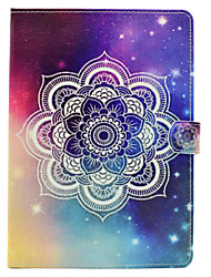 For iPhone iPad (2017) iPad Pro 9.7'' PU Leather Material Star Mandala Pattern Painted Flat Protective Cover iPad Air 2 Air iPad 2 / 3 / 4
