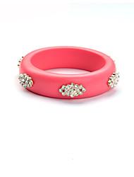 Mulheres Bracelete Amizade Moda Liga Forma Redonda Jóias Para