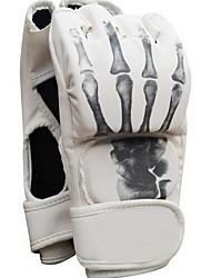 Sports Gloves Exercise Gloves Pro Boxing Gloves for Boxing Muay Thai Fitness Fingerless GlovesKeep Warm Breathable Wearproof High