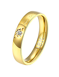 XU Ms Golden Diamond Inlaid Rings