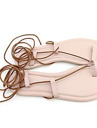 Feminino-Sandálias-Chanel-Rasteiro--Outras Peles de Animais-Casual