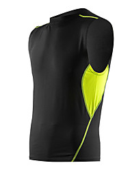 Men's Running T-Shirt Sleeveless Quick Dry Breathable Soft Comfortable Compression Tank Top for Exercise & Fitness Basketball