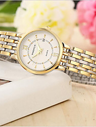 Women's Fashion Watch Quartz Alloy Band Gold Black White Gold