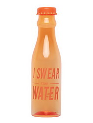601-700ml High-capacity Transparent Plastic Water Bottle