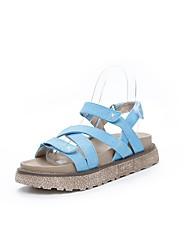 Sandales pour femmes printemps confort toile casual khaki almond blue
