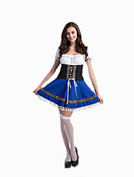 Cosplay Costumes Party Costume Masquerade Maid Costumes Oktoberfest/Beer Waiter/Waitress Movie Cosplay DressHalloween Carnival