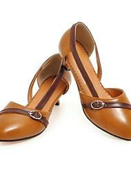 Mujer-Tacón Bajo Tacón Kitten Tacón Cono-Confort Innovador Gladiador Suelas con luz Zapatos del club Zapatos formales-Zapatos de taco