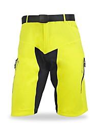 Nuckily Pantaloncini da ciclismo Per uomo Bicicletta Pantaloncini Semi-lungoAsciugatura rapida Design anatomico Indossabile Traspirante