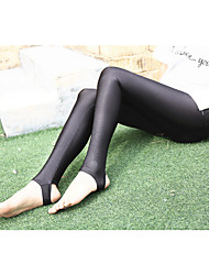 Women's Polyester Thin Solid Color Legging,Solid This Style is TRUE to SIZE.