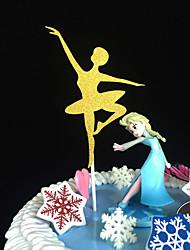 Decoración de Pasteles No personalizado Papel de tarjetaBaby Shower Quinceañera y Dulces Dieciséis Cumpleaños Matrimonio Aniversario