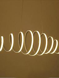 Lampe suspendue ,  Contemporain Traditionnel/Classique Peintures Fonctionnalité for LED Style mini AluminiumSalle de séjour Salle à