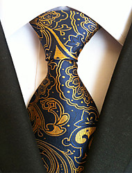 11 Kinds Men's Polyester Silk Jacquard Tie Necktie for Party