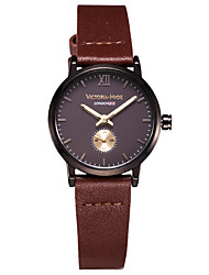 Women'sFashion Watch Wrist watch Casual Watch Japanese Quartz Japanese Quartz Water Resistant / Water Proof Genuine Leather Band