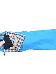 Bolsa de dormir Saco Rectangular Sencilla -15 -5 Algodón T/C 210X75 Camping Mantiene abrigado A Prueba de Humedad