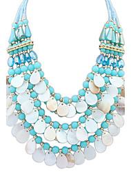 Women's Statement Necklaces Jewelry Jewelry Gem Rhinestone Alloy Fashion Personalized Euramerican Costume Jewelry Jewelry For Party