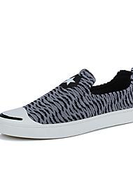 Herren-Sneakers Frühjahr fallen Komfort Tüll lässig rot grau schwarz