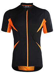 Jaggad Cycling Jersey Women's Men's Unisex Short Sleeve Bike Jersey Tops Quick Dry Breathable Polyester Elastane Patchwork Summer