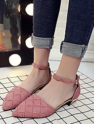 Damen-High Heels-Kleid Lässig-Kunstleder-Blockabsatz-Komfort Club-Schuhe-