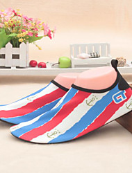 Women's Loafers & Slip-Ons Spring Comfort PU Casual Blue Red