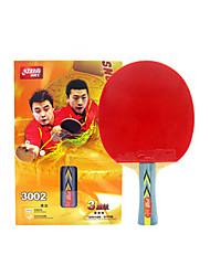 3 Stars Ping Pang/Table Tennis Rackets Ping Pang Wood Long Handle Pimples
