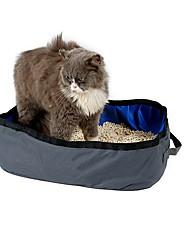 Кошка Переезд и перевозные рюкзаки Учебный Подгузники Лопатки для туалета Водонепроницаемость Компактность Складной Милые На каждый день