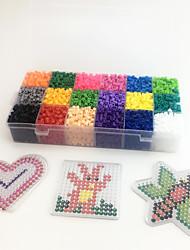 Kit de Bricolaje Juguete Educativo Puzzle Juguete para Dibujar Juguetes creativos Circular Cuadrado Con Forma de Corazón Plástico EVA