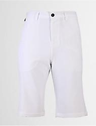 Homens Sem Mangas Golfe Calças Respirável Redutor de Suor Confortável Branco Preto Cinzento Azul Golfe Esportes Relaxantes