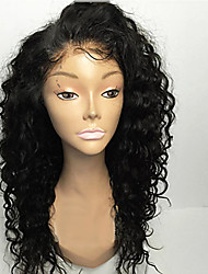 Premierwigs Full Lace Human Hair Wigs Curly Hair Brazilian Virgin Hair Wigs 130%-180% Density Lace Front Human Hair Wigs with Baby Hair