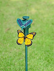 Garden Supplies Solar Powered Dancing Flying Butterfly for Garden Decoration Random Color