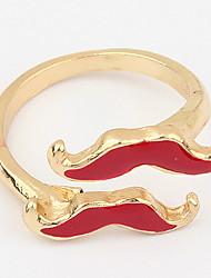 Fashion Hip-Hop  Daily Women's Adorable Beard Cuff  Ring Gift Jewelry