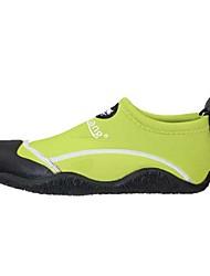 Wassersport Schuhe Unisex Anti-Shake Polsterung Wasserdicht im Freien Gummi Preforierte EVA Tauchen Blau Gelb