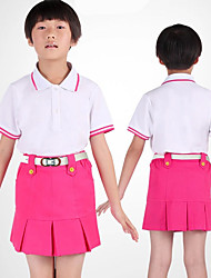 Kid's Sleeveless Golf Skirts & Dresses Breathable Sweat-wicking Comfortable Golf Leisure Sports