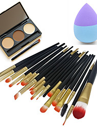 1 Lápices de Cejas Borla Para Maquillaje/Esponja Cosmética Pinceles de Maquillaje Seco Cara Ojos Labios Otro China