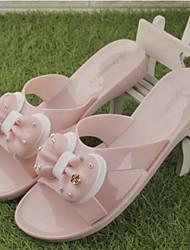 Women's Sandals Slingback Rubber Summer Casual Flat Heel Black Beige 1in-1 3/4in