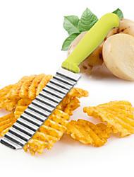 1 Pças. Cortador e Fatiador For Para utensílios de cozinha Plástico Aço Inoxidável Alta qualidade Gadget de Cozinha Criativa
