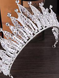 Diamantes Sintéticos Aleación Celada-Boda Ocasión especial Al Aire Libre Tiaras Pasador de Pelo 1 Pieza